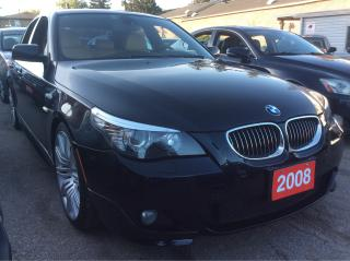 Used 2008 BMW 5 Series 550i for sale in Scarborough, ON