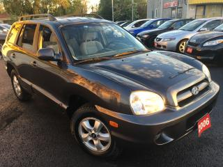 Used 2006 Hyundai Santa Fe GL/5SPEED/ALLOYS/4-CYLINDER/DRIVES LIKE NEW for sale in Scarborough, ON