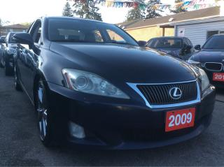 Used 2009 Lexus IS 350 EXCELLENT CONDITION for sale in Scarborough, ON