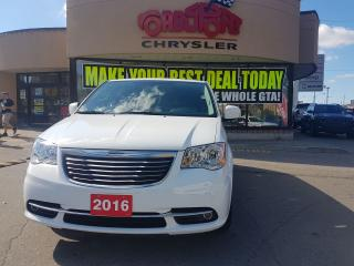 Used 2016 Chrysler Town & Country TOURING 2 DVD P-ROOF NAVI REAR CAM 7 PASS for sale in Scarborough, ON
