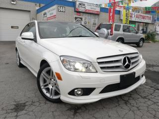 Used 2008 Mercedes-Benz C 350 4MATIC_NAVI_Leather_Panoramic Sunroof for sale in Oakville, ON