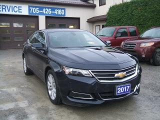 Used 2017 Chevrolet Impala LT for sale in Beaverton, ON