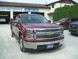 Used 2014 Chevrolet Silverado 1500 LT, 4x4, Double Door for sale in Beaverton, ON