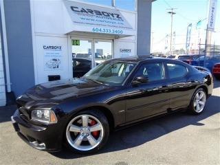 Used 2007 Dodge Charger SRT8 6.1L V8 425HP, Nav, Leather, Sunroof for sale in Langley, BC