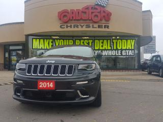 Used 2014 Jeep Grand Cherokee SRT8 PANO ROOF TRAL TOW NAVI LOADED for sale in Scarborough, ON