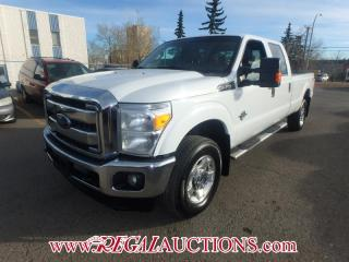 Used 2015 Ford F350SD XLT CREW CAB 4WD for sale in Calgary, AB