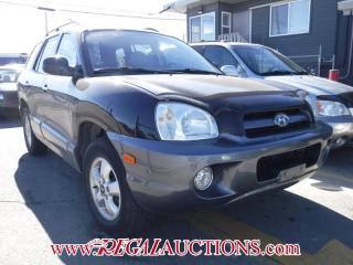 Used 2006 Hyundai SANTA FE GLS 4D UTILITY AWD 3.5L for sale in Calgary, AB