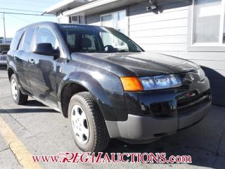 Used 2004 Saturn Vue 4D Utility FWD 4CYL for sale in Calgary, AB