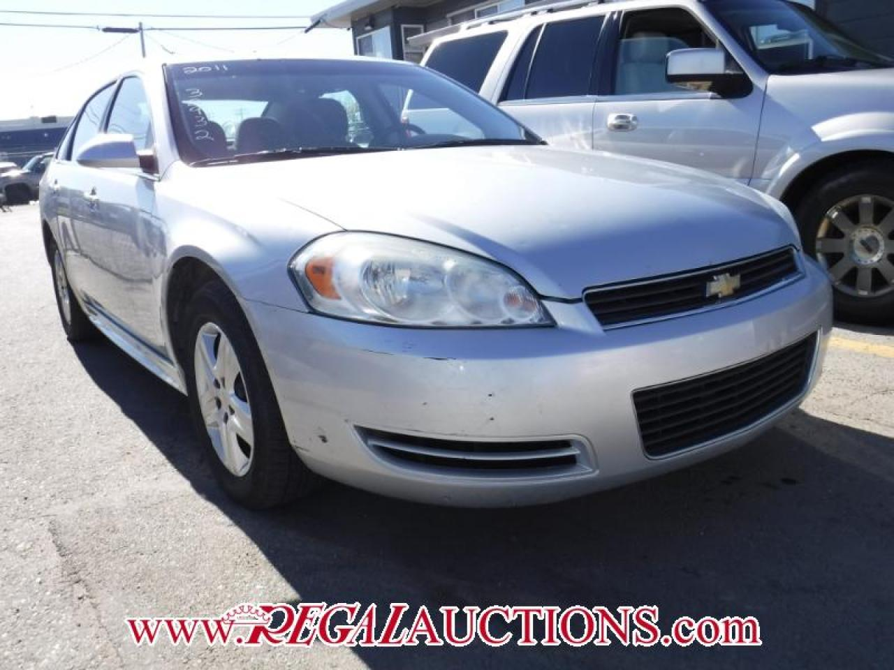 Photo of Grey 2011 Chevrolet IMPALA LS 4D SEDAN