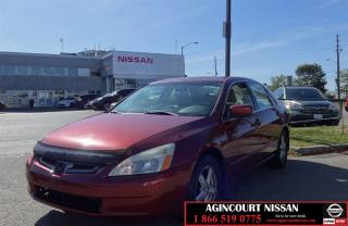 Used 2003 Honda Accord EX-L |AS-IS SUPER SAVER| for sale in Scarborough, ON