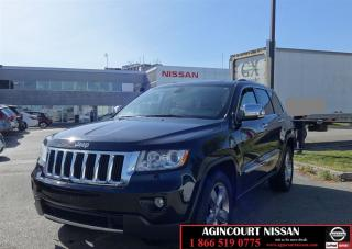 Used 2011 Jeep Grand Cherokee Limited |Camera|4x4|Beige Interior| for sale in Scarborough, ON