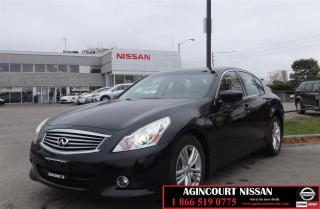 Used 2010 Infiniti G37 Luxury |Leather Heated Seats|No Accidents| for sale in Scarborough, ON