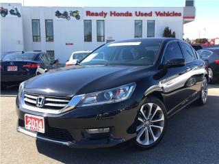 Used 2014 Honda Accord Sedan Sport - Rear Camera - Heated seats for sale in Mississauga, ON