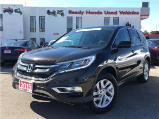 Used 2015 Honda CR-V EX - Sunroof - Alloys - Heated seats for sale in Mississauga, ON