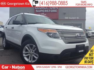 Used 2015 Ford Explorer ALLOY WHEELS| 7 SEATS | ONLY 43,653KMS| LIKE NEW for sale in Georgetown, ON