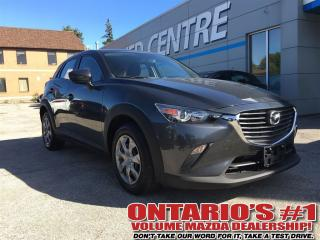 Used 2016 Mazda CX-3 GX CONVENIENCE PKG / BLUETOOTH!!!!-TORONTO for sale in North York, ON
