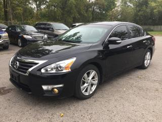 Used 2013 Nissan ALTIMA 2.5 SL * LEATHER * SUNROOF * REAR CAM * BLUETOOTH * LOW KM for sale in London, ON