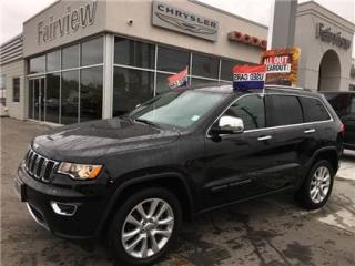 Used 2017 Jeep Grand Cherokee Limited  Navi/Sunroof/Leather for sale in Burlington, ON