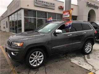 Used 2017 Jeep Grand Cherokee Limited..Navi/Sunroof/Leather for sale in Burlington, ON