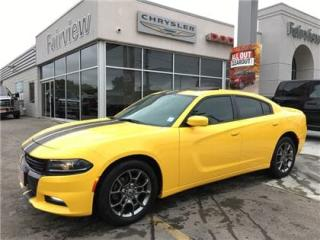 Used 2017 Dodge Charger Rallye..WOW Yellow AWD for sale in Burlington, ON