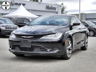 Used 2016 Chrysler 200 S for sale in Surrey, BC