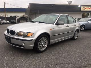 Used 2004 BMW 320i i Coquitlam Location - 604-298-6161 for sale in Langley, BC