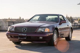 Used 1996 Mercedes-Benz SL-Class Hard Top Convertible,  Langley for sale in Langley, BC