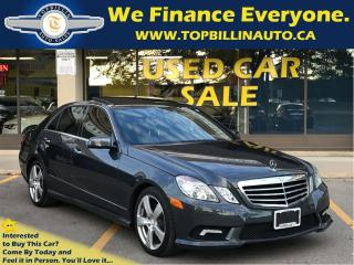 Used 2011 Mercedes-Benz E-Class E350 4MATIC Navigation, Pano Roof, 88K kms for sale in Concord, ON