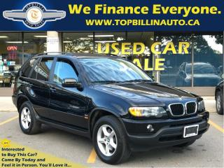 Used 2003 BMW X5 3.0i, LEATHER, SUNROOF 139K kms for sale in Concord, ON