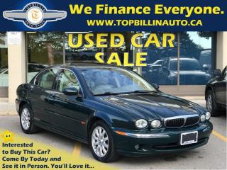 Used 2003 Jaguar X-Type 2.5 AWD, LEATHER, SUNROOF for sale in Concord, ON