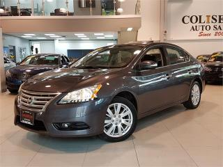 Used 2015 Nissan Sentra SL-LEATHER-NAVI-CAMERA-SUNROOF-ONLY 66KM for sale in York, ON