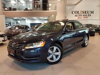 Used 2012 Volkswagen Passat COMFORTLINE-LEATHER-SUNROOF-ONLY 88KM for sale in York, ON