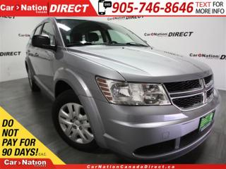 Used 2015 Dodge Journey CVP| DUAL CLIMATE CONTROL| PUSH START| for sale in Burlington, ON