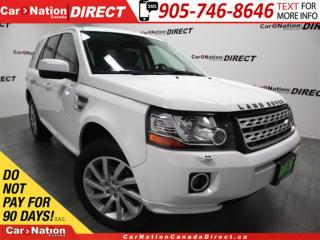 Used 2014 Land Rover LR2 | 4X4| LEATHER| SUNROOF| TOUCH SCREEN| for sale in Burlington, ON