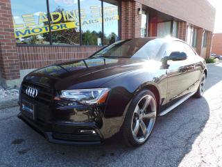 Used 2014 Audi A5 2.0 Technik Rare 6 Speed Manual, S-Line, Black Optic for sale in Woodbridge, ON