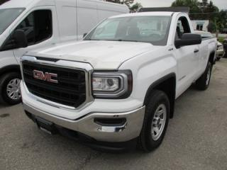 Used 2016 GMC Sierra 1500 READY TO WORK SLE MODEL 3 PASSENGER 5.3L - V8.. 4X4.. REGULAR CAB.. 8-FOOT BOX.. AUX/USB INPUT.. FACTORY WARRANTY.. for sale in Bradford, ON