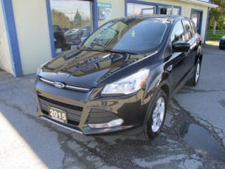 Used 2015 Ford Escape POWER EQUIPPED SE MODEL 5 PASSENGER 1.6L - ECO-BOOST.. 4WD.. HEATED SEATS.. BACK-UP CAMERA.. SYNC TECHNOLOGY.. for sale in Bradford, ON