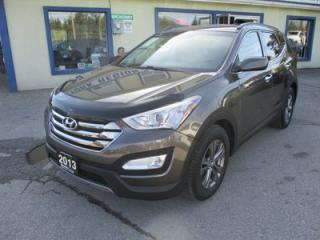 Used 2013 Hyundai Santa Fe LOADED 'SPORT - EDITION' 5 PASSENGER 2.4L - DOHC.. AWD.. HEATED SEATS.. BLUETOOTH SYSTEM.. ACTIVE-ECO PACKAGE.. for sale in Bradford, ON