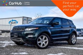 Used 2013 Land Rover Evoque Pure Plus|AWD|Pano Sunroof|Bluetooth|Backup Cam|Leather|19