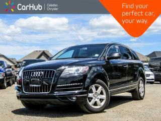 Used 2014 Audi Q7 3.0T Progressiv|Quattro|7 Seater|Backup Cam|Bluetooth|Leather|Heated Front Seats|18:Alloy Rims for sale in Bolton, ON
