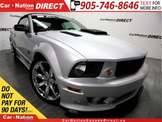 Used 2007 Ford Mustang Saleen| VERY RARE| CONVERTIBLE| MUST SEE| for sale in Burlington, ON