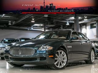 Used 2007 Maserati Quattroporte EXECUTIVE GT|NAVI|MASSAGE|PARKING SENSORS for sale in North York, ON