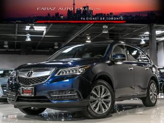 Used 2015 Acura MDX TECH|B.SPOT|LANE DEP|NAVI|REAR CAM|LOADED for sale in North York, ON