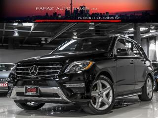 Used 2015 Mercedes-Benz ML 350 AMG|NAV|BLINDSPOT|PANO|REAR CAM|PUSHSTART|BLUETEC for sale in North York, ON