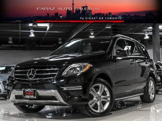 Used 2015 Mercedes-Benz ML 350 NAVI|BLINDSPOT|REAR CAM|LED|4MATIC for sale in North York, ON