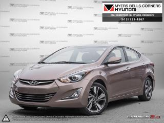 Used 2014 Hyundai Elantra Limited for sale in Nepean, ON