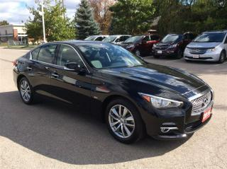 Used 2016 Infiniti Q50 3.0t..1 Owner Accident free.. for sale in Milton, ON