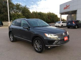 Used 2015 Volkswagen Touareg Comfortline.. Clean Car proof.. for sale in Milton, ON