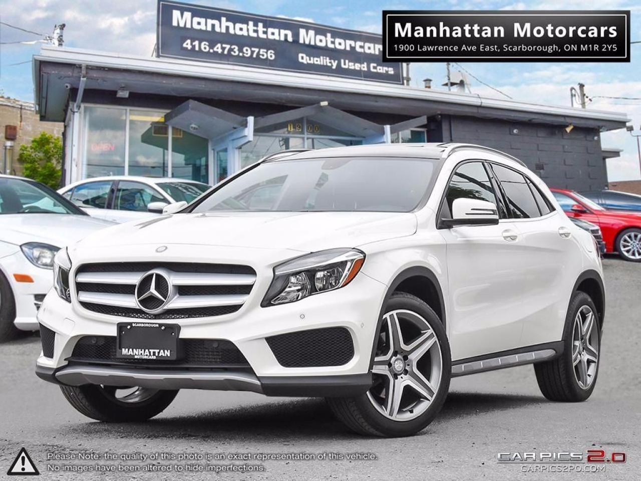 Photo of White 2015 Mercedes-Benz GLA45