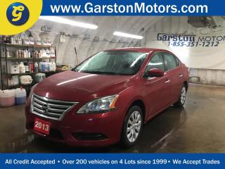 Used 2013 Nissan Sentra SV*KEYLESS ENTRY*CLIMATE CONTROL*POWER WINDOWS/LOCKS/MIRRORS*ECO/SPORT MODE*PHONE CONNECT*AM/FM/CD/AUX* for sale in Cambridge, ON